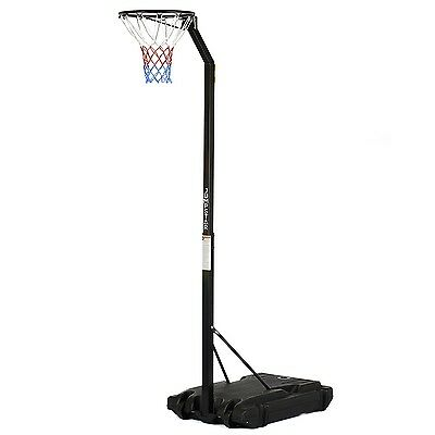 Jump Star Portable Netball Stand Post Full Size Professional Adjustable Hoop Set