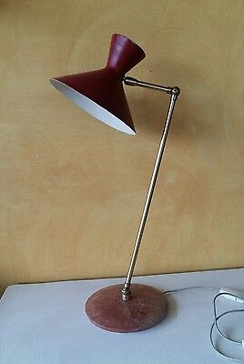 Lampada anni 50 -Stilnovo -stilux-table lamp mid century