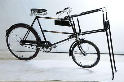 Traditional Antique Style Butchers Bike Complete Display Low Rider Bike New Blac