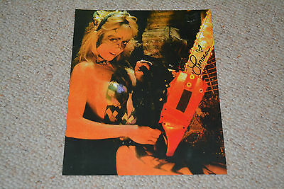 LINNEA QUIGLEY signed Autogramm 20x25 cm In Person  HOLLYWOOD CHAINSAW HOOKERS