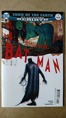 All Star Batman #7 First Print Dc Comics (2017) Ends Of The Earth