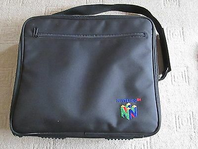 Official Nintendo 64 / N64 Console Carry Case / Travel Bag With Strap / Pockets