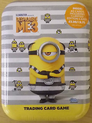 Despicable Me 3 ~ Topps Trading Card Collection ~ Collectors Mini Tin