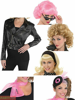 Ladies 1950s Costume Accessories Adult Sandy School Fancy Dress Outfit Accessory