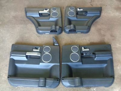 Land Rover Discovery 3 Hse 4 X Door Cards In Black For Logic 7 Speakers #1406