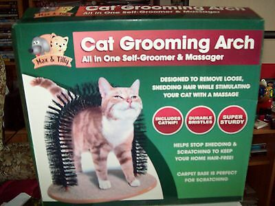 cat grooming arch