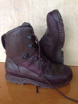 Size 9 genuine brown combat high liability haix boots! Excellent! Hardly Used!