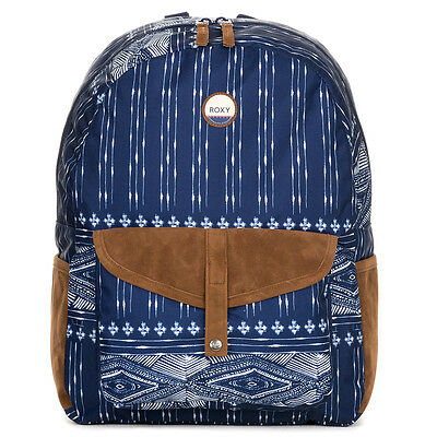 Roxy Carribean Women's Backpack Dancing on Combo Blue