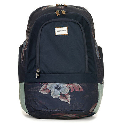 Quiksilver 1969 Special Backpack BP Parrot Jungle Navy