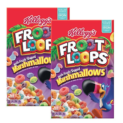 2 x Froot Loops with Marshmallow 297g (BBD- 08/March/2020)