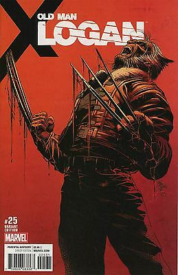 OLD MAN LOGAN #25 DEODATO VARIANT 1:25 COVER D Bagged & Boarded NM