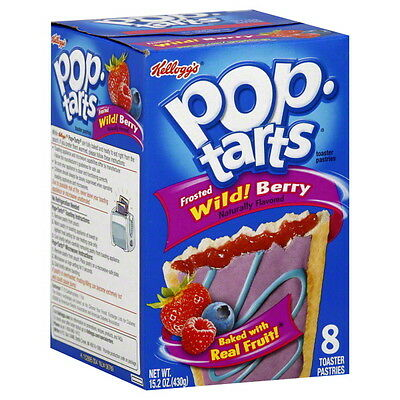 Kellogg's Pop Tarts Wildlicious Frosted Wild Berry 430g