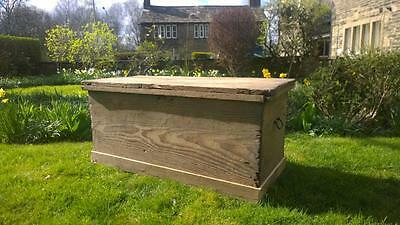 Antique Early 19th Century Pine Chest