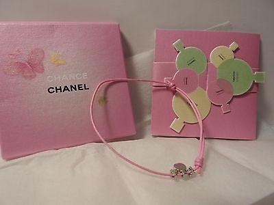 Compliment -gifts VIP- Chance chanel-charm, small card with flavor
