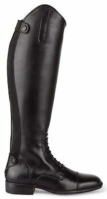 Caldene Equestrian Ashford Black Quality Leather Mens Long Riding Boots All Size