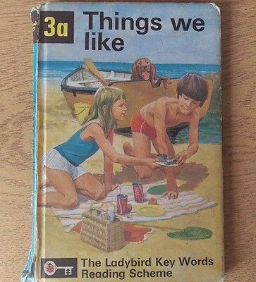 Ladybird Book - 3a Things We Like - 1964- Peter and Jane