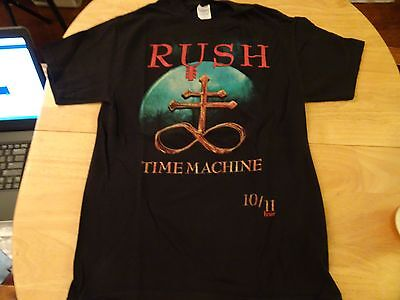 RUSH Time Machine Tour 2010/2011. amazing T-shirt NEW. Size M. Mint Condition