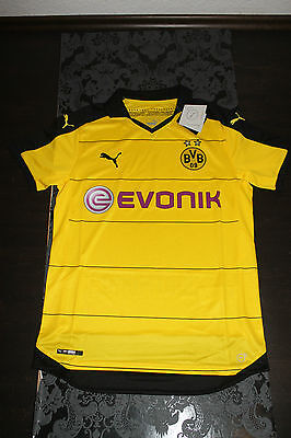 Puma Home Jersey 2015 2016 Bvb Borussia Dortmund Yellow all Sizes New