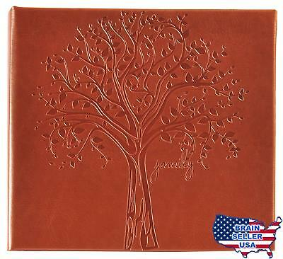 PINNACLE FRAME Family Tree Embossed Photo Album #12FF2465, New, Free Ship