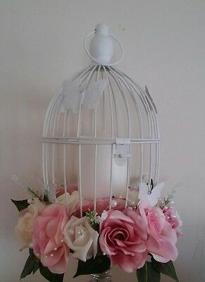Butterfly Birdcage wedding centre piece top table