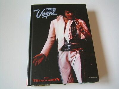 Elvis Presley Fotobuch: Last Vegas (The King In Motion) - (OHNE/WITHOUT DVD)