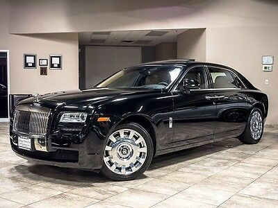 2013 Rolls-Royce Ghost EWB Sedan 4-Door 2013 Rolls Royce Ghost EWB Just Serviced Loaded MSRP $347k+ Rear Theatre Config
