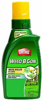 ORTHO Weed B Gon Weed Killer for Lawns Concentrate - 32-ounces - NEW