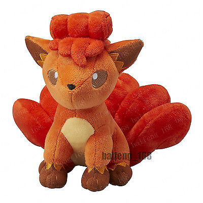 2017 NEW Pokemon Go Vulpix Plush Soft Teddy Stuffed Dolls Kids Toy 30cm