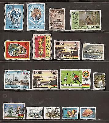Ghana  -  Lot Of Stamps