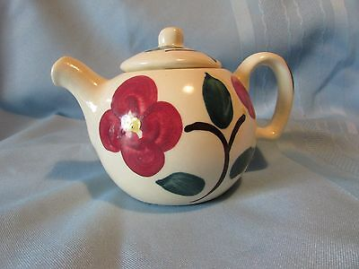 Purinton Tea Pot - Individual or 1 Cup Size in Pansy Pattern
