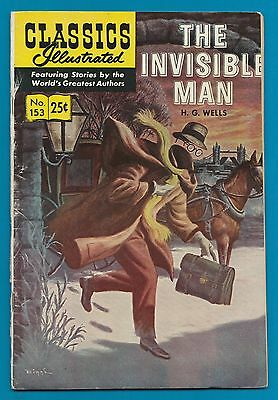 Classics Illustrated Comic 1971  The Invisible Man  by  H.G. Wells  #841