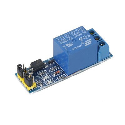 1-Channel 5V Relay Module opto-isolator high level trigger