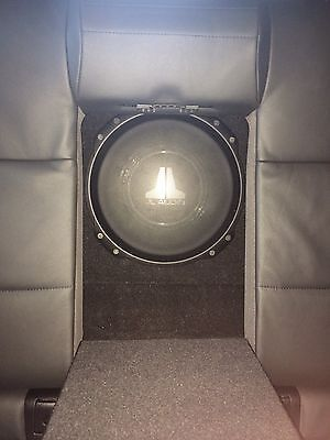 """JL AUDIO 10TW3-D4 10"""" Dual 400 RMS Slimline Subwoofer With Grill And Custom Box"""