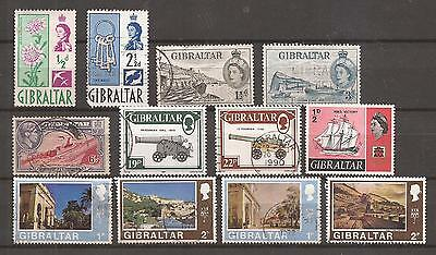 Gibraltar  -  Lot Of Stamps