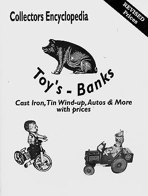 1,000+ Tin and Cast Iron Banks Toys incl. Wind-ups / Illustrated Book + Values