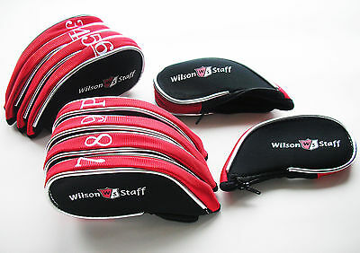 WILSON STAFF IRON COVERS fits all wilson clubs FG Tour D200