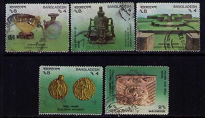 Bangladesh Stamps, SC # 400a-l Cpl.USED SET