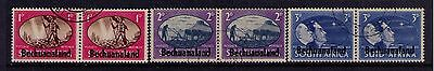 BECHUANALAND Ovpt on S.Africa STAMPS  SC# 137-9 Cpl.SET