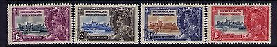 BECHUANALAND PROCTERATE STAMPS 1935 KGV SC# 117-20 Cpl.MH SETCat.$13