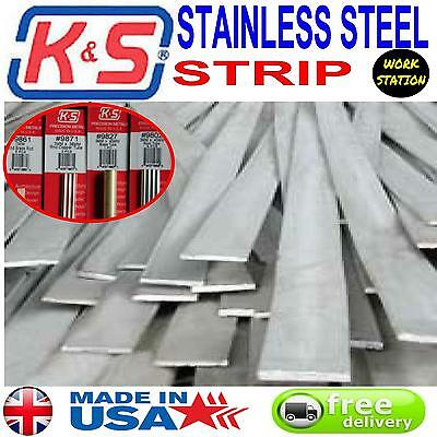 k & S Stainless steel strip precision metal for modellers, engineers & craftsmen