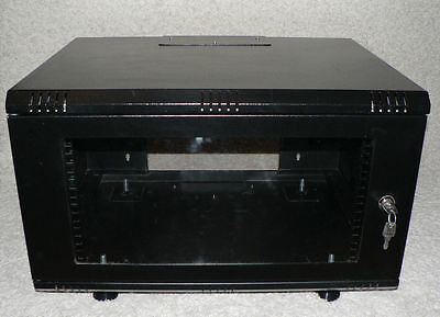 "19"" 6U Network Cabinet 450mm with Adjustable Feet"