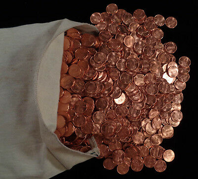 Lot of 10 1995 P Lincoln Cent Rolls - Uncirculated
