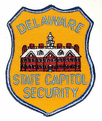 DELAWARE – STATE CAPITAL SECURITY – DOVER DE Police/Sheriff Patch CAPITAL CITY ~