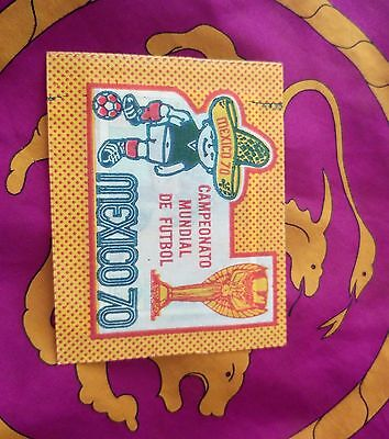 Panini MEXICO 70 sealed packet - JUANITO version - mint condition!!!