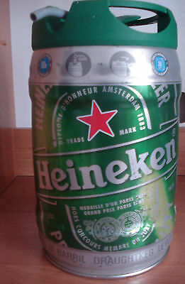 Heineken version 2   5l Fass, leer / GALLON