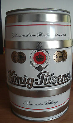 Konig Pilsener version 2  5l Fass, leer / GALLON