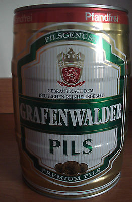 Grafenwalder Pils  5l Fass, lee / GALLON