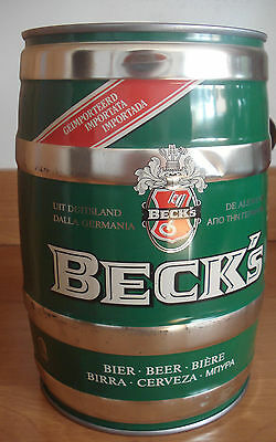 Becks  5l Fass, lee / GALLON