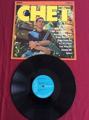Chet - Chet Atkins 12in LP Vinyl Record Excellent Condition