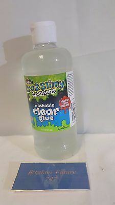 NEW! Cra-Z-Art Cra-Z-Slimy Creations 16 ounce Washable Glue - Clear FREE SHIP